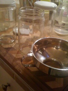 Straight-sided, large-lidded, small-shouldered, hormone-safe jars for freezing food
